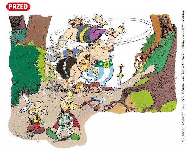 Asteriks. Złoty menhir (przed)