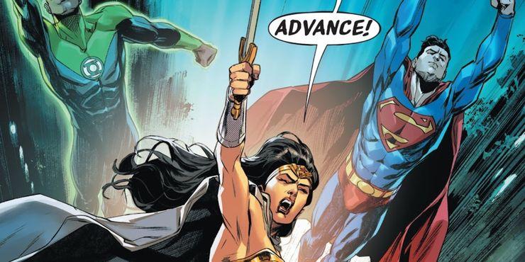 Justice League #46 - plansze