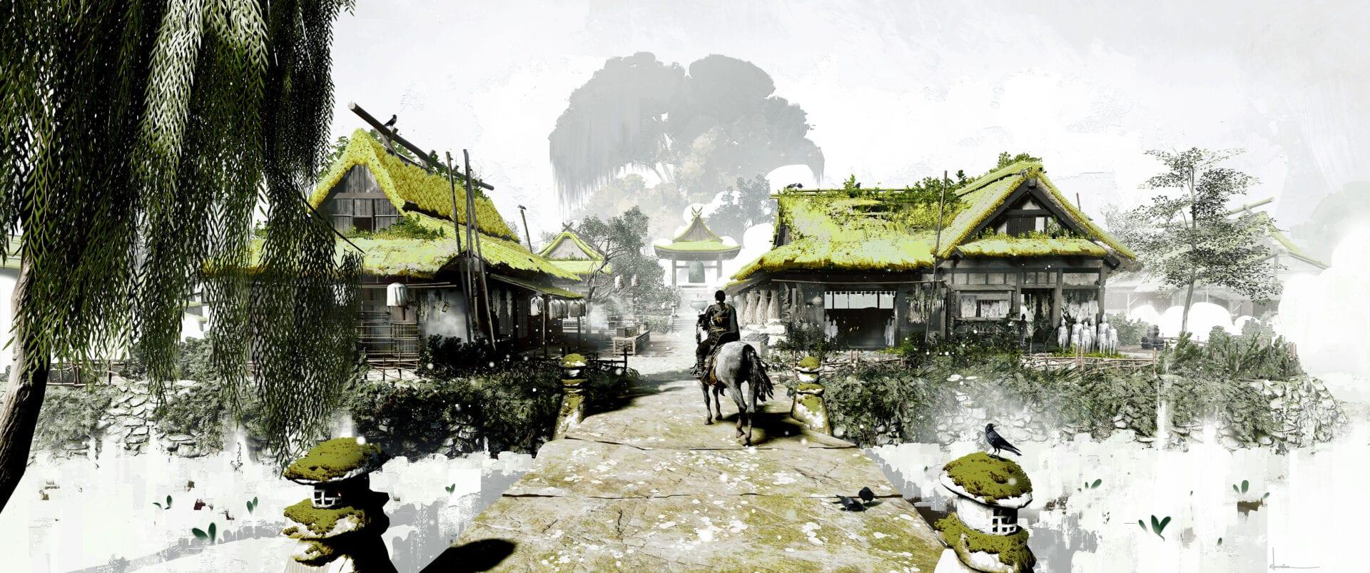 Ghost of Tsushima - szkice koncepcyjne