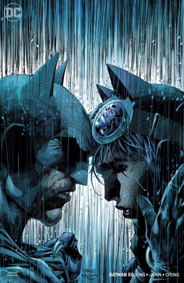 Batman #50 - okładka