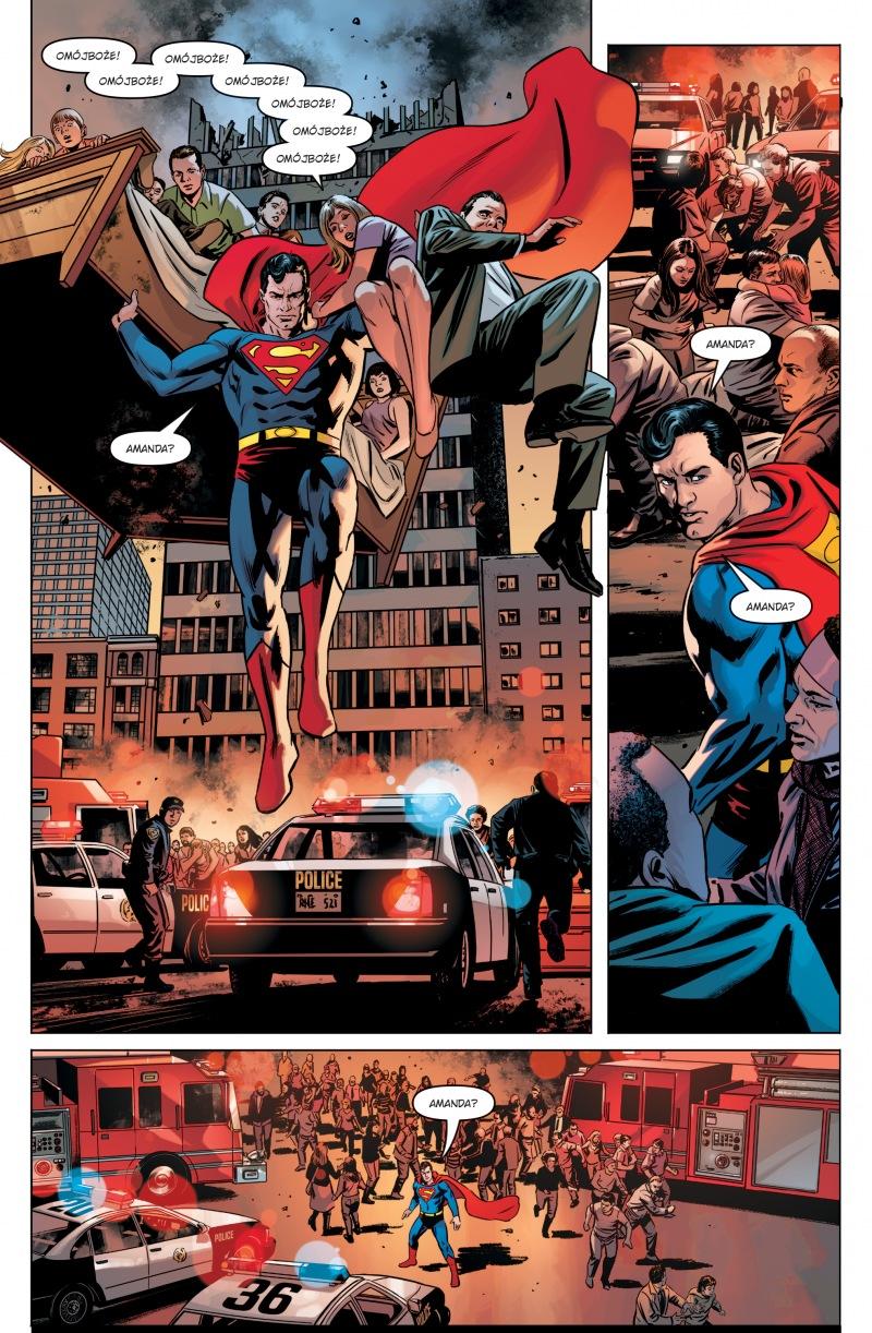 Superman Action Comics - Nadejście Lewiatana. Tom 2 - plansze