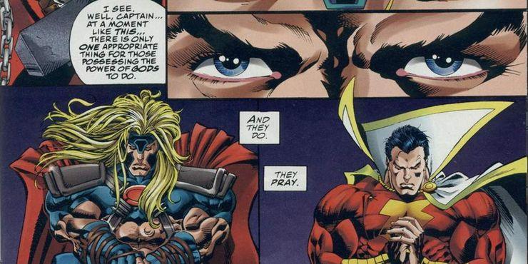 Thor vs. Shazam - fragmenty pojedynku