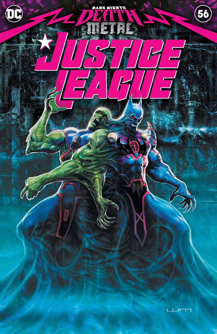 Justice League #56 (Doom Metal) - okładka