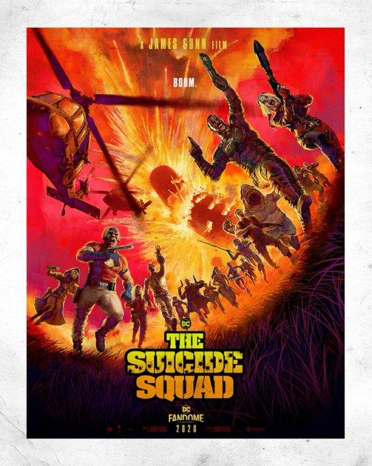 Legion samobójców: The Suicide Squad plakat