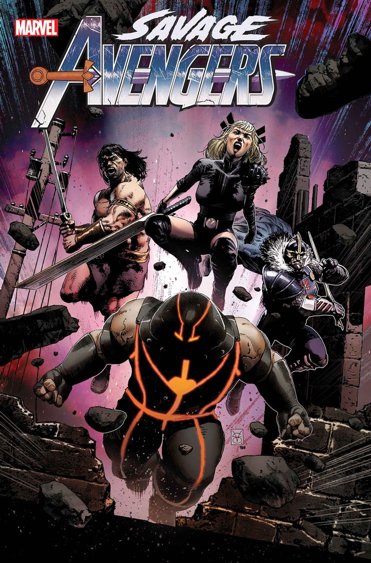 Savage Avengers #16 - okładka