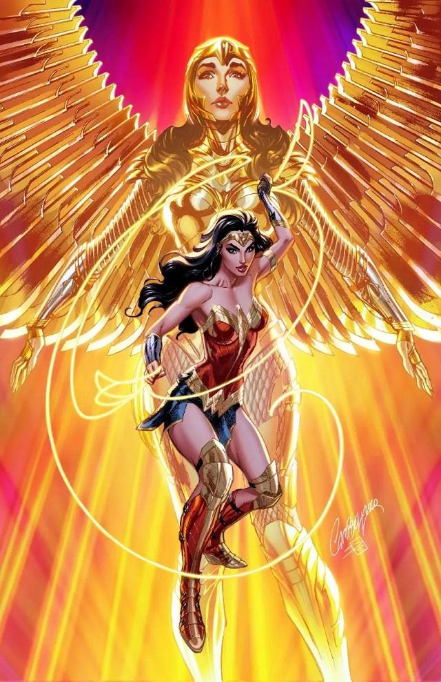 Wonder Woman 1984 - alternatywne okładki komiksów DC