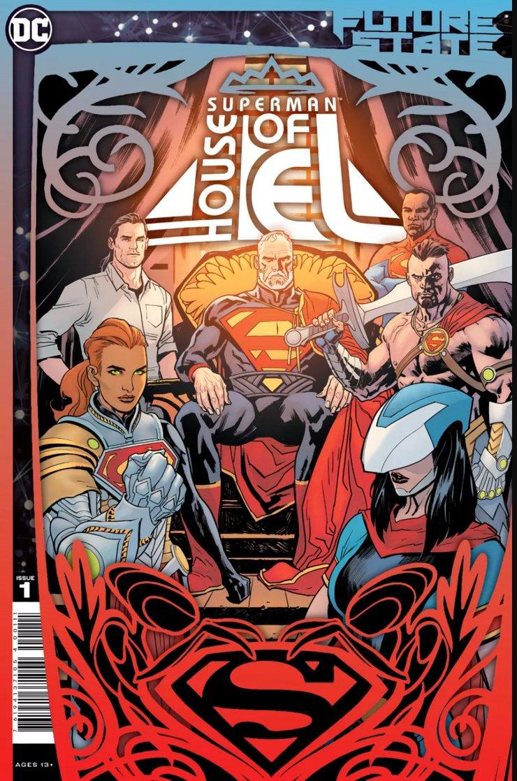 Future State: Superman: House of El #1 - okładka