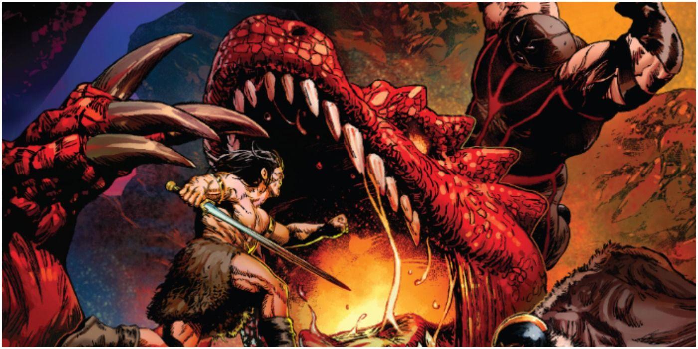 Savage Avengers #14 - plansze