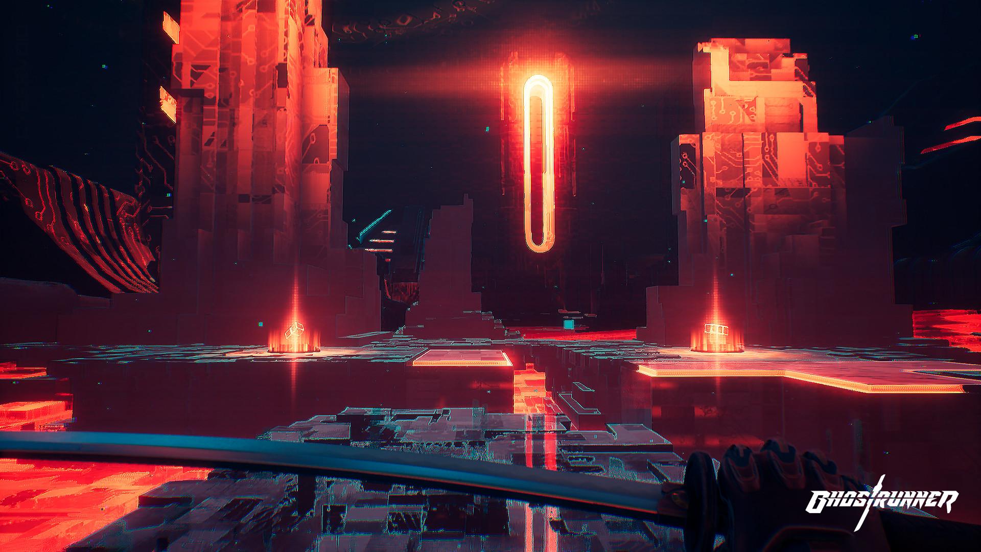 Ghostrunner - screeny z gry