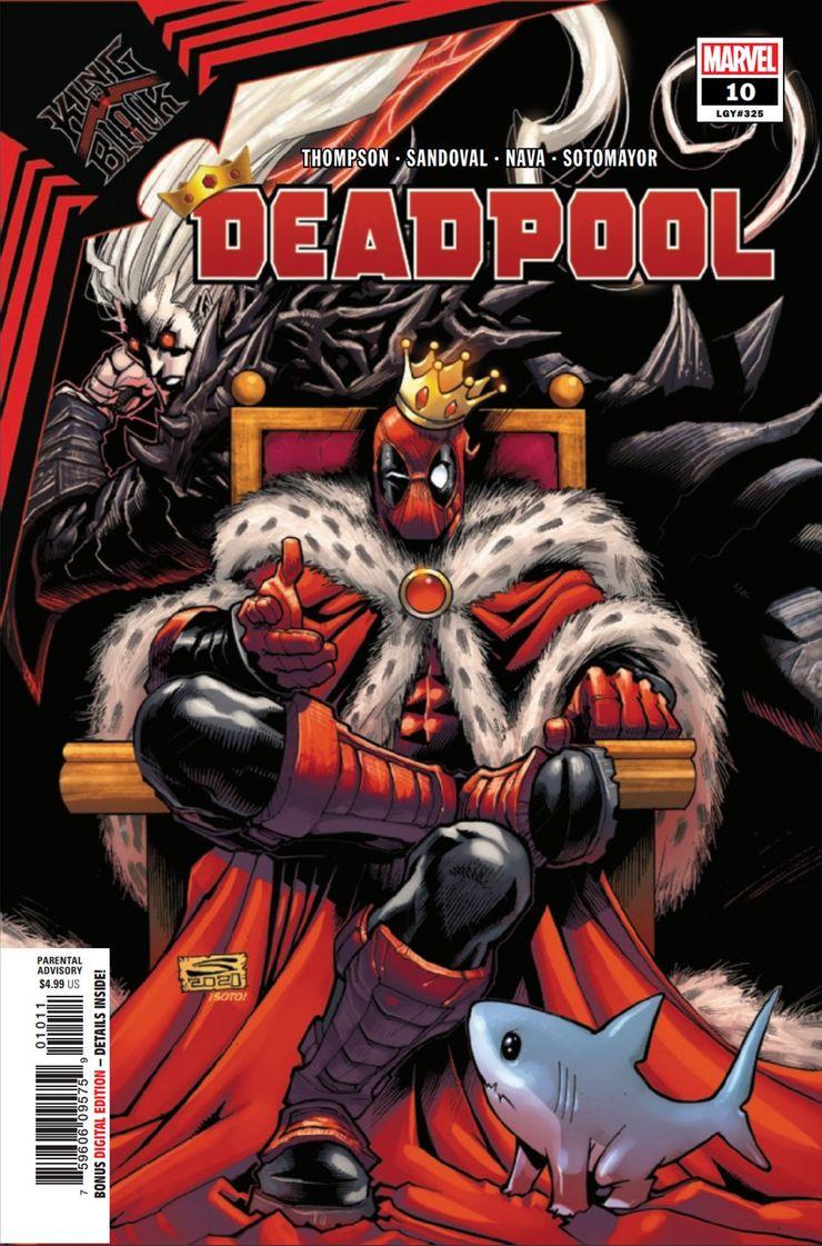 Deadpool #10 - okładka