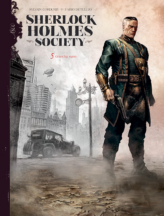 Sherlock Holmes Society. Tom 5. Grzechy syna - okładk