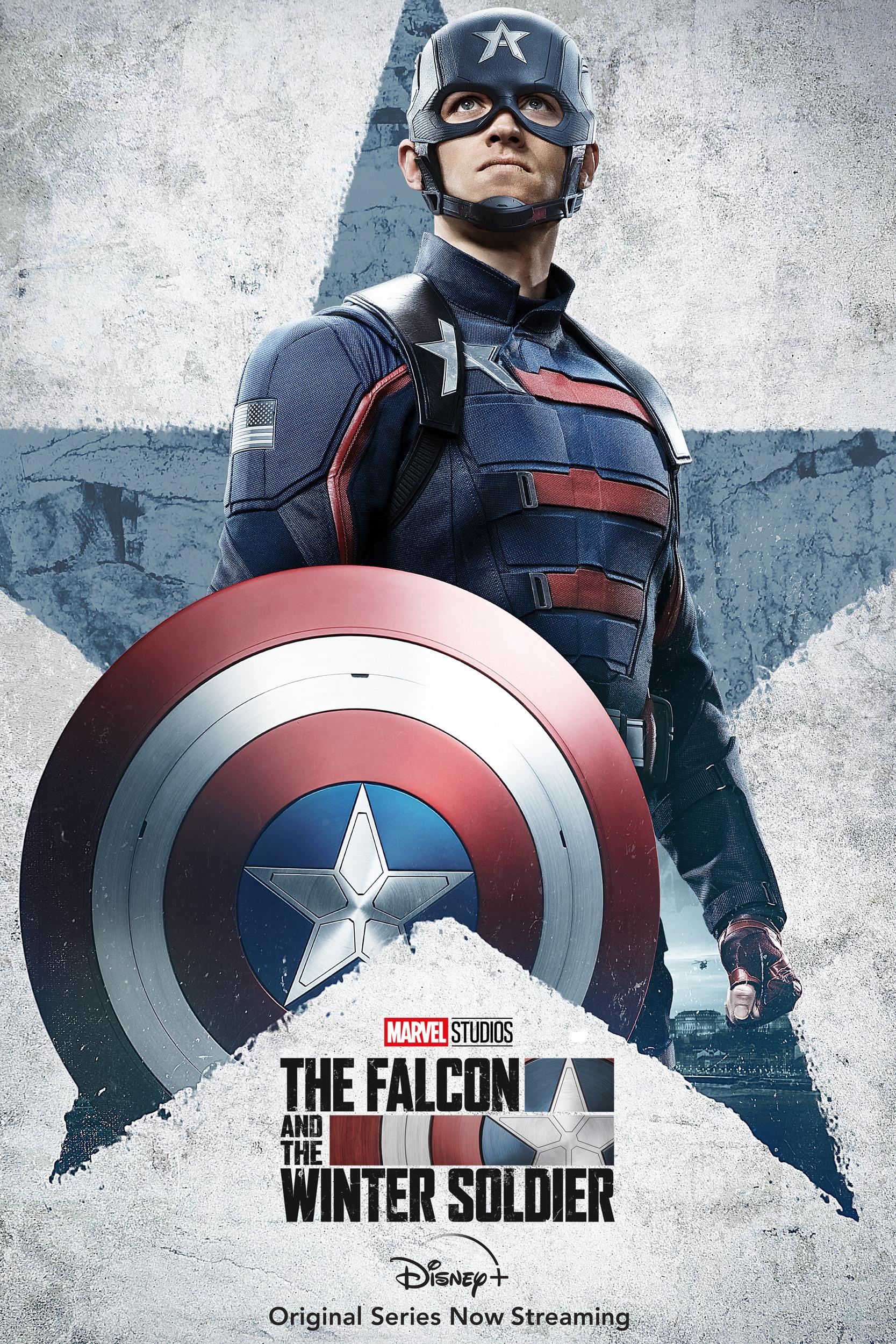 Falcon i Zimowy Żołnierz plakat Kapitan Ameryka