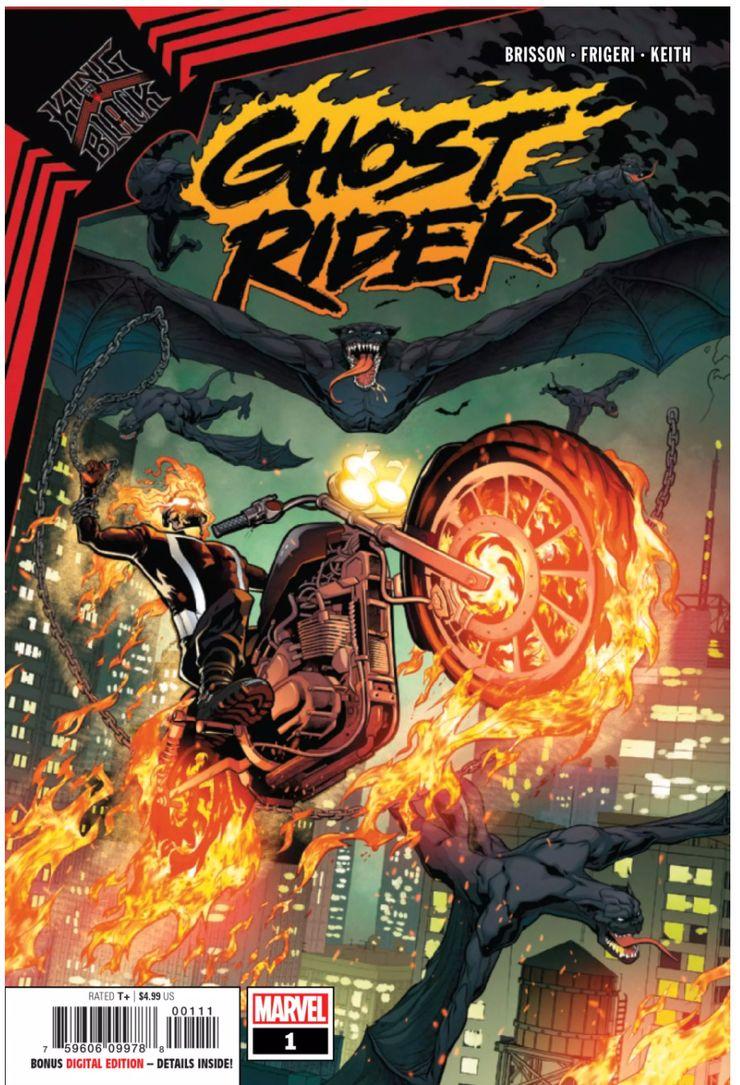 King in Black: Ghost Rider #1 - okładka