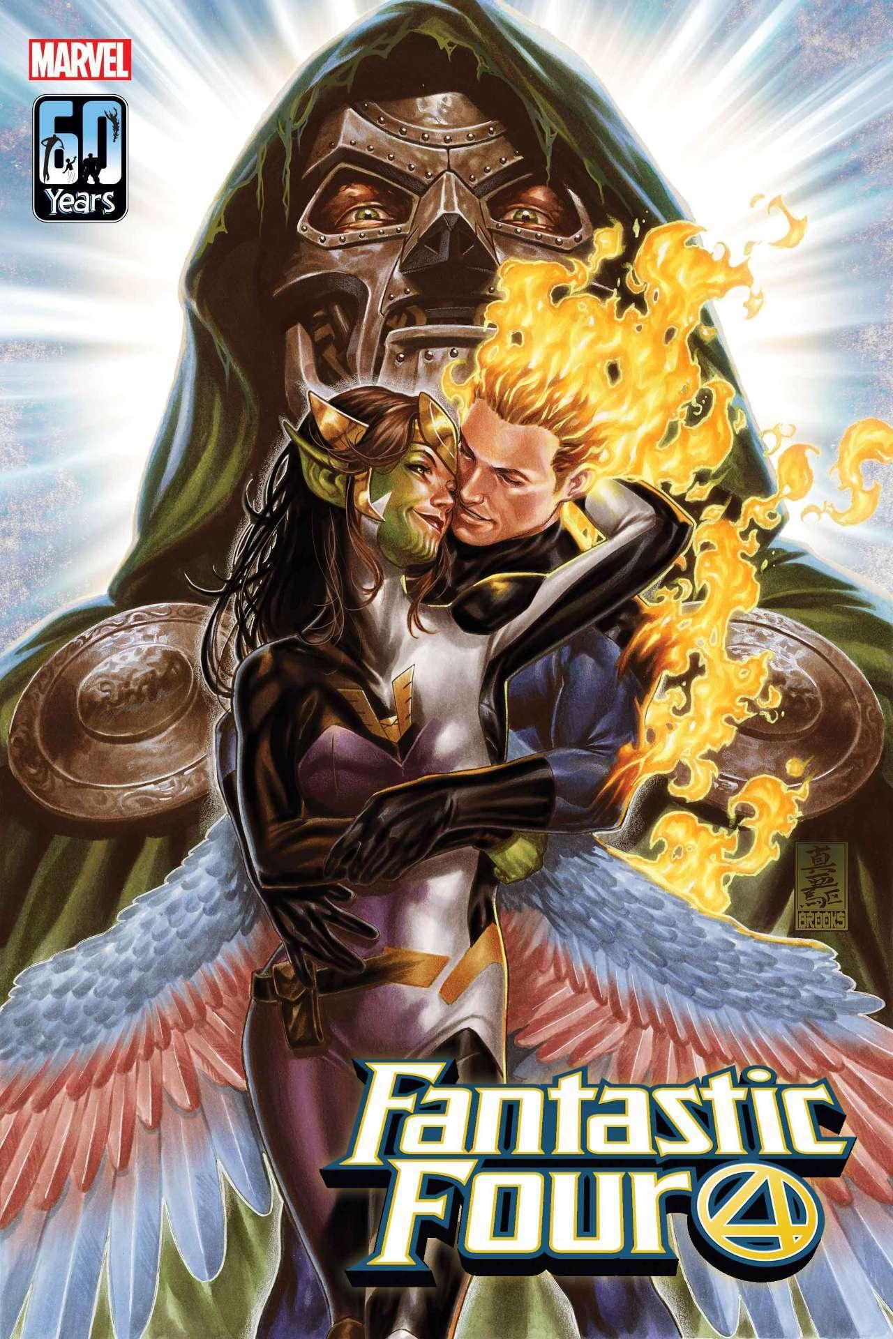 Fantastic Four #32 - okładka
