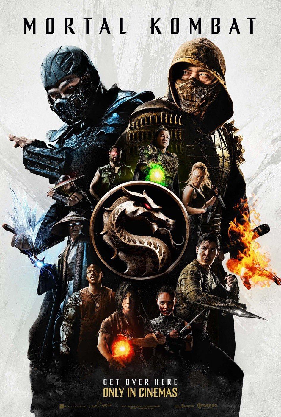 Mortal Kombat - nowy plakat. Bohaterowie gotowi do walki - naEKRANIE.pl