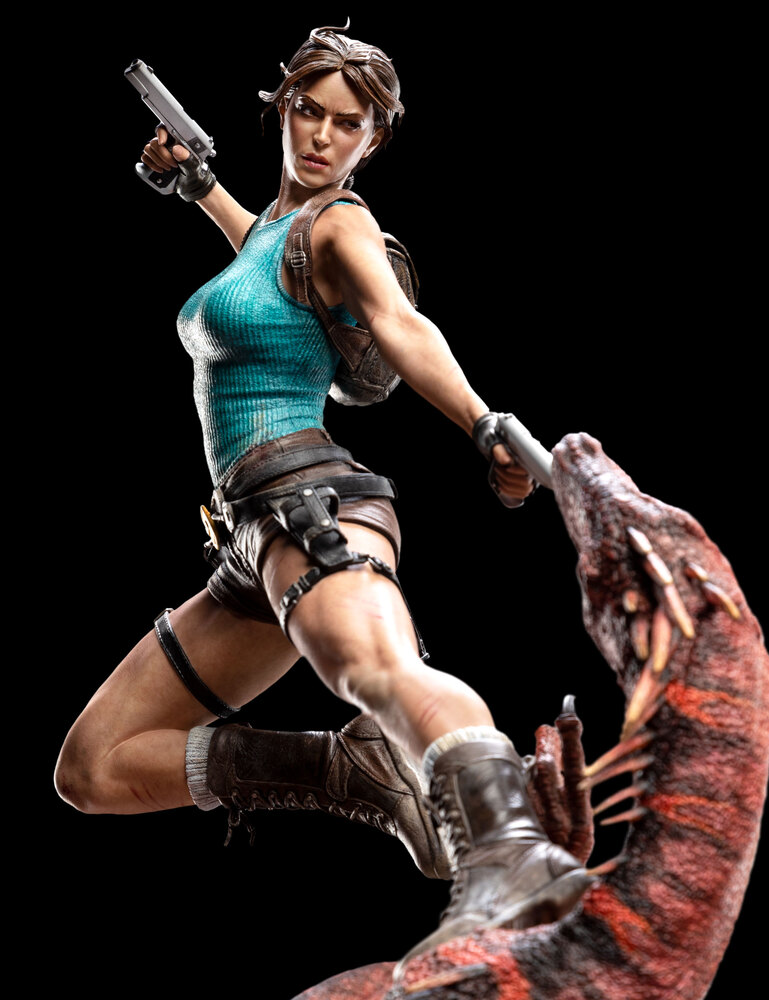 Lara Croft The Lost Valley - figurka od Weta Workshop