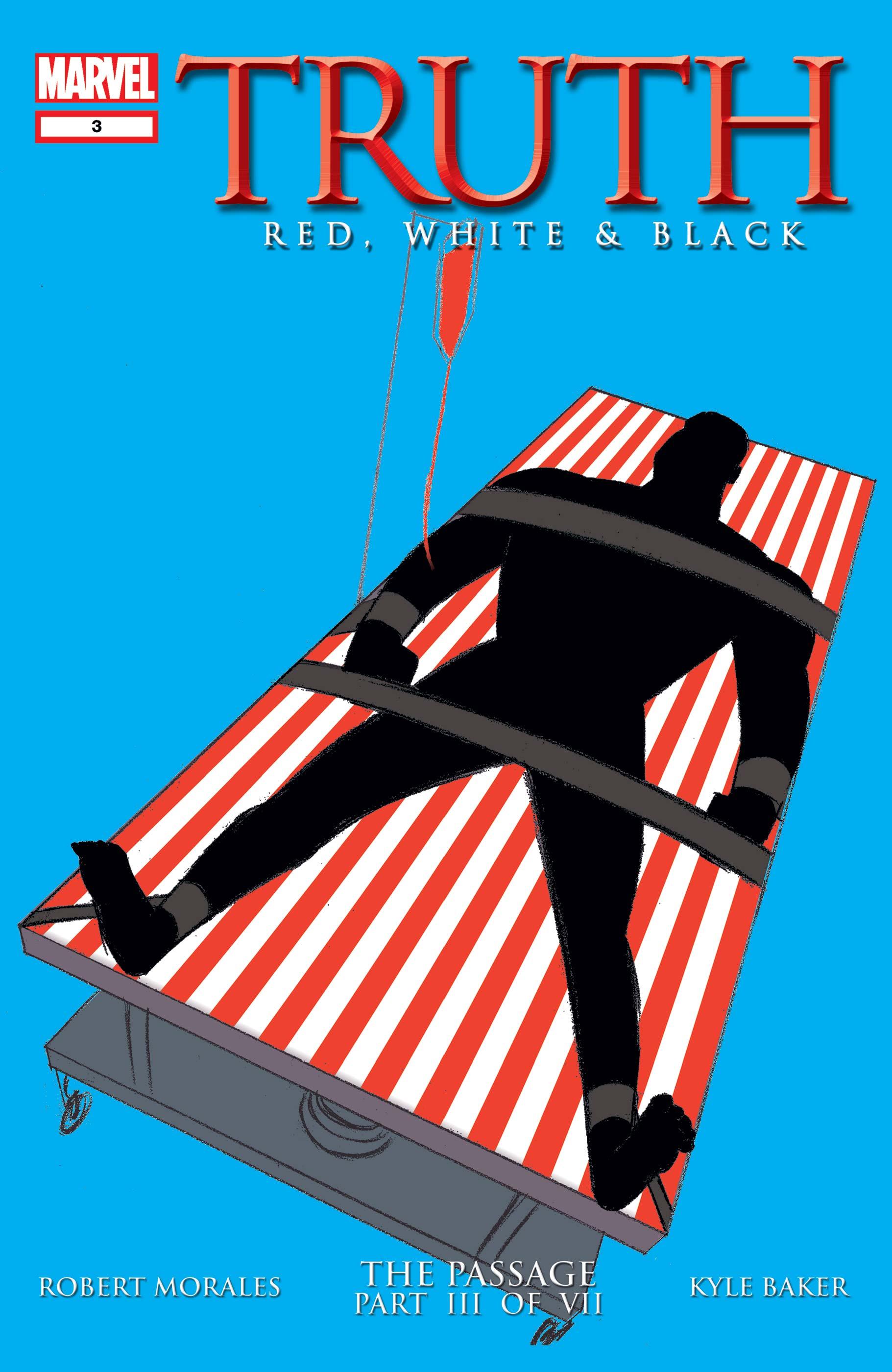 """Tytuł 5. odcinka serialu, """"Truth"""", nawiązuje do serii komiksowej """"Truth: Red, White and Black"""" z 2003 roku ze scenariuszem Roberta Moralesa, w której pokazano eksperymenty na czarnoskórych żołnierzach USA – głównym bohaterem opowieści był Isaiah Bradley. Przypomnijmy, że inspiracją dla tej historii stało się słynne badanie Tuskegee z lat 1932-1972, w trakcie którego Afroamerykanie byli zarażani kiłą."""