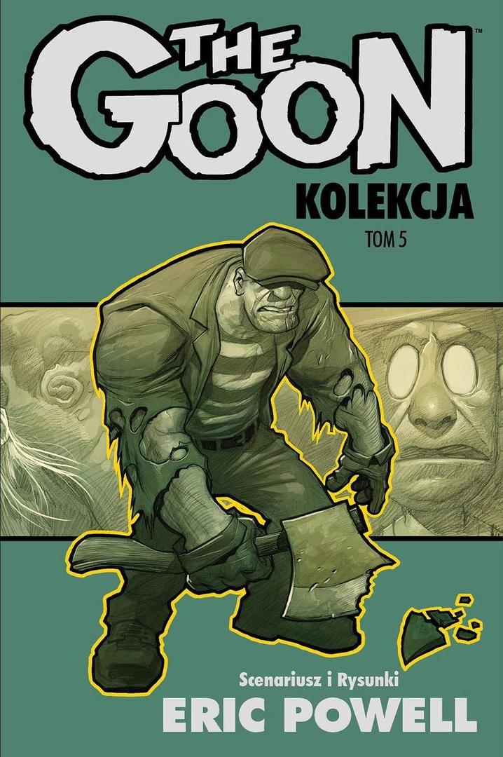 Goon, tom 5 - okładka
