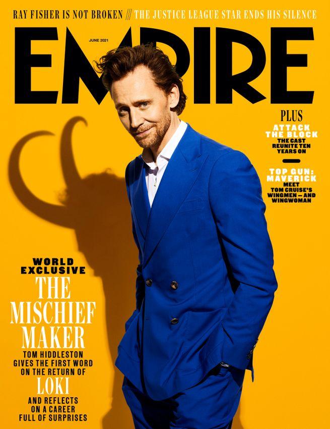 Loki - tytułowa postać na okładce i nowym zdjęciu z serialu Marvela i Disney+ - naEKRANIE.pl