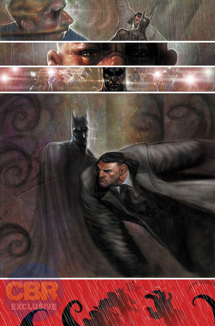 Batman: Reptilian #1 - plansze