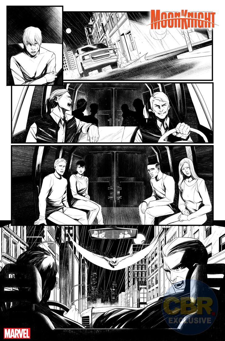 Moon Knight #1 - materiały promocyjne
