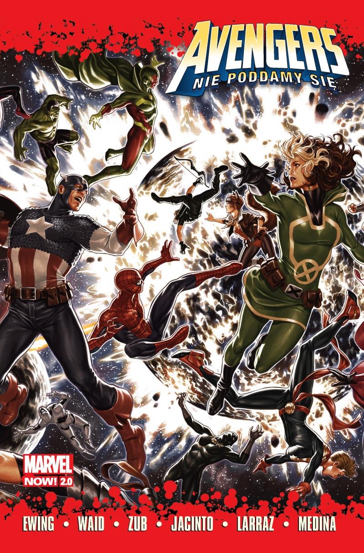 Avengers. Nie poddamy się - okładka