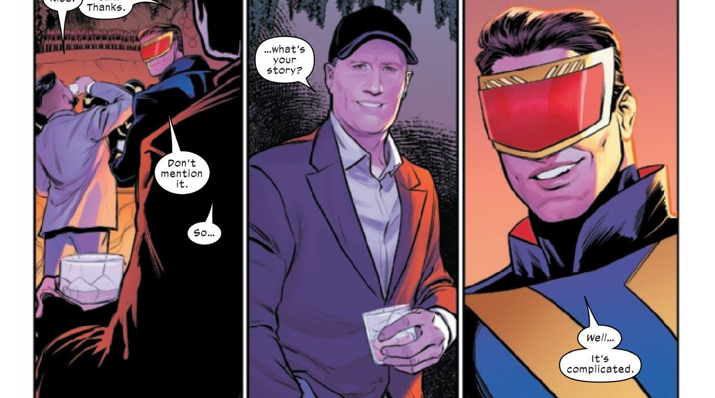 X-Men #21 - plansze