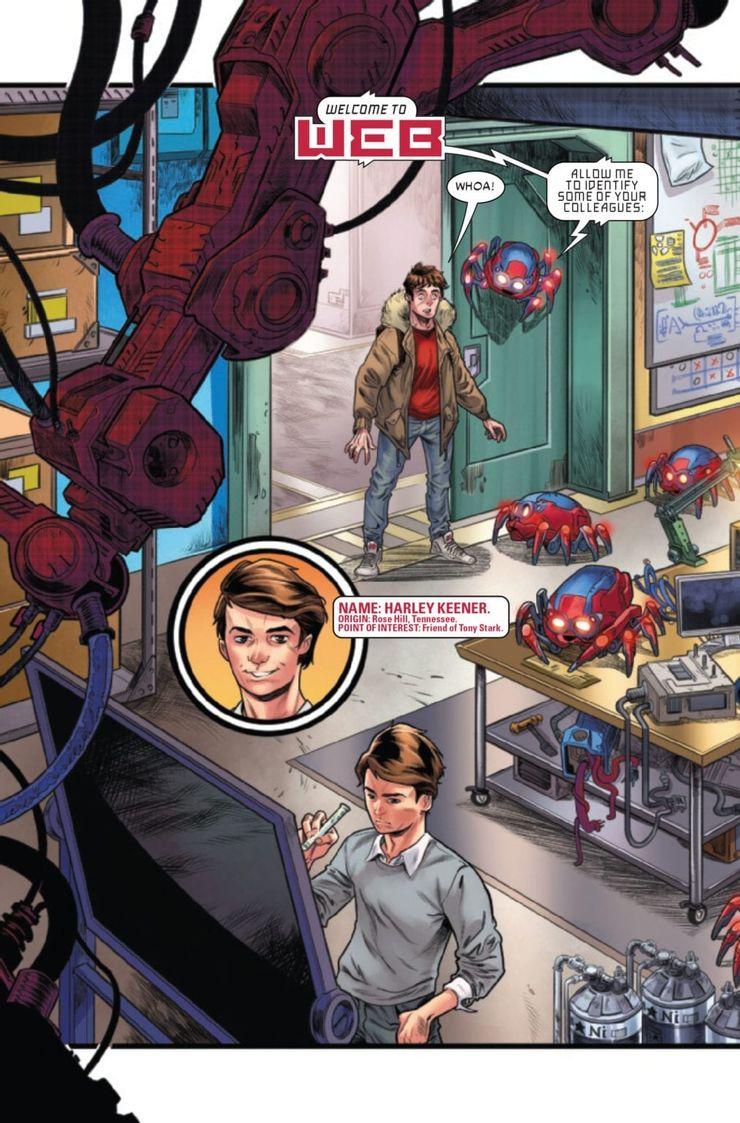 W.E.B. of Spider-Man #1 - plansze