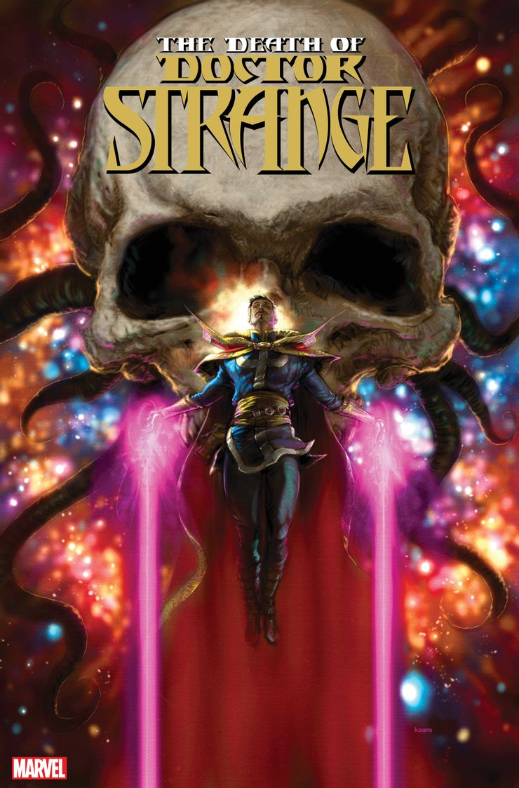 Śmierć Doktora Strange'a - okładka 1. zeszytu serii