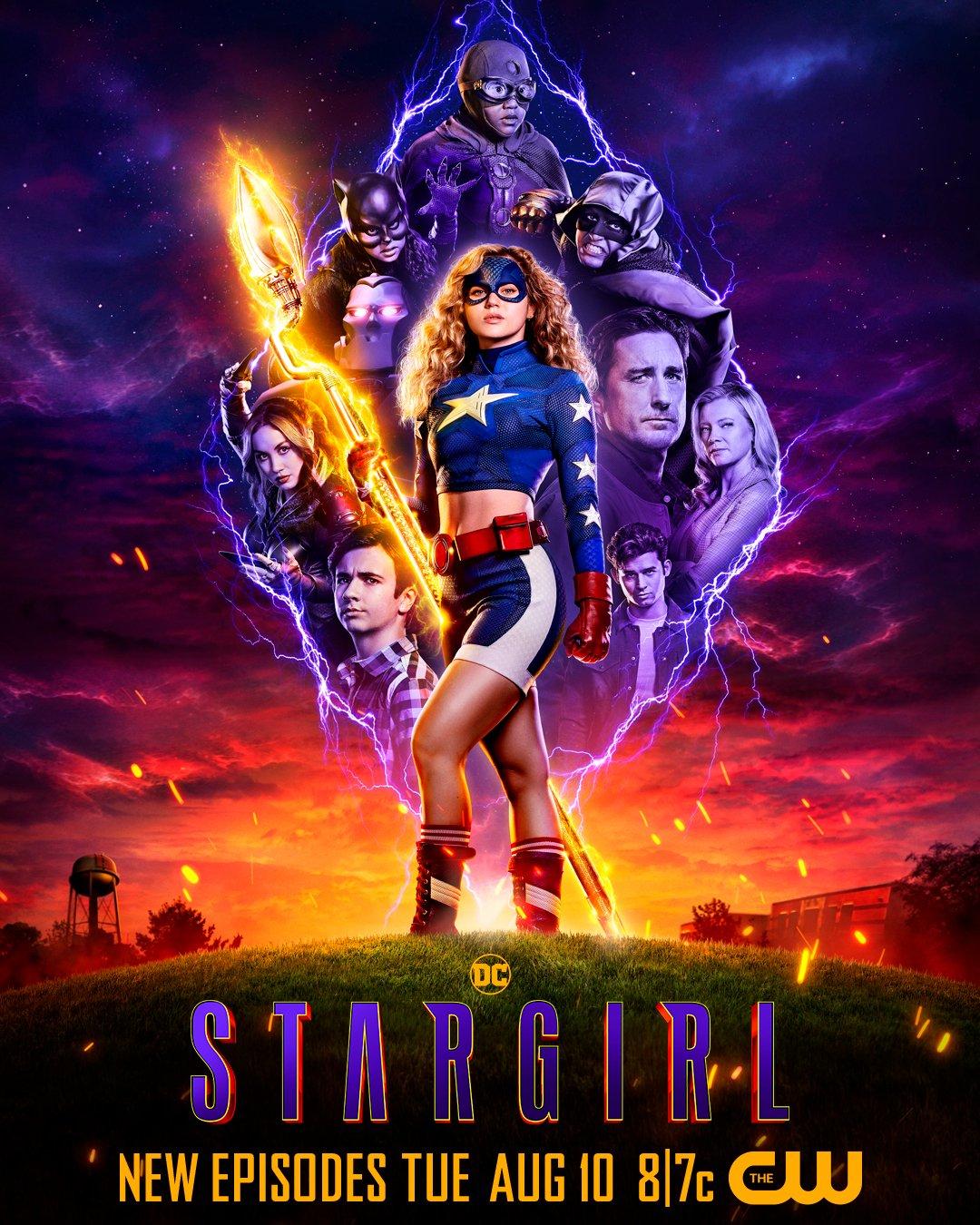 Stargirl 2. sezon plakat