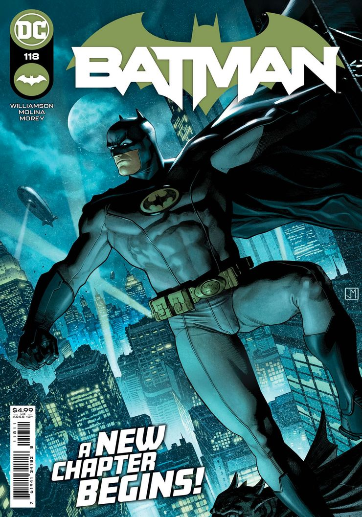Batman #118 - okładka