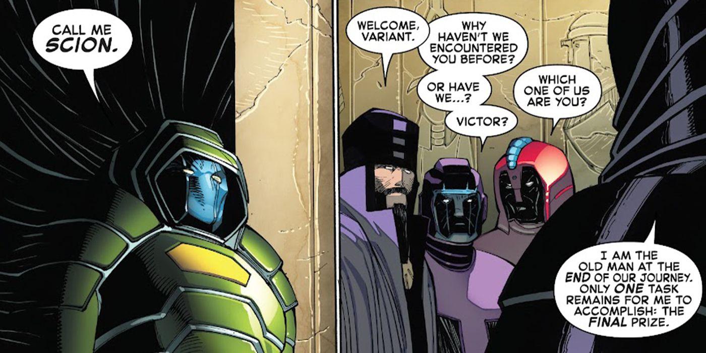 Fantastic Four #35 - plansze