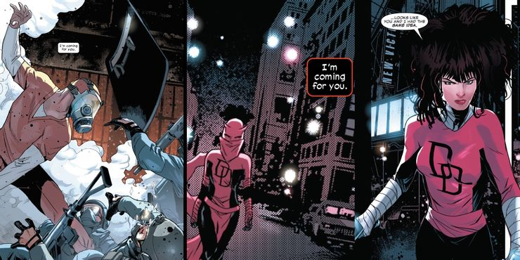 Daredevil #34 - plansze