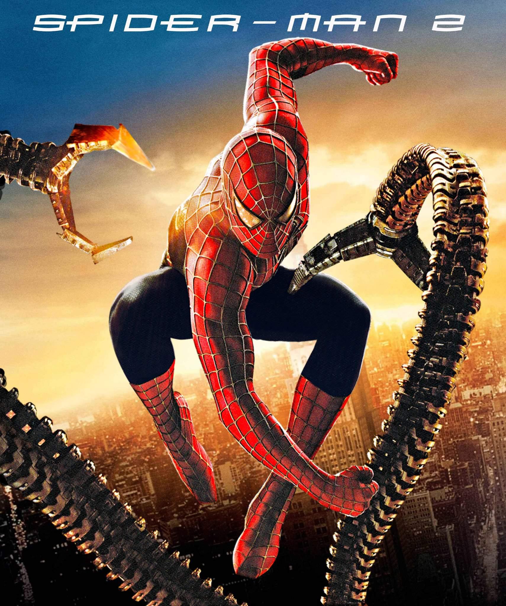 Spider-Man 2 - oryginalny plakat
